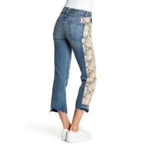 Current/Elliot | First Love Mixed Floral Jeans